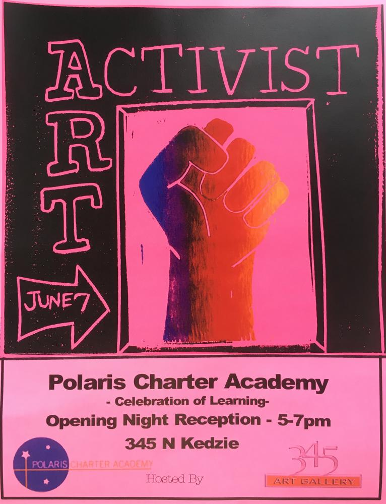 Join us for Activist Art Exhibition on June 7