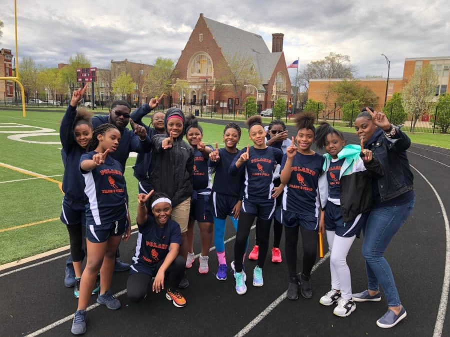 Girls Track & Field Meet Results 5/3/19