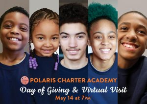 Day of Giving & Virtual Visit — May 14 at 7PM